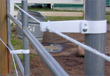 Horse fencing - Our clamps fit pipe panels